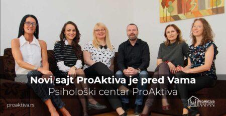Novi sajt ProAktiva je pred Vama